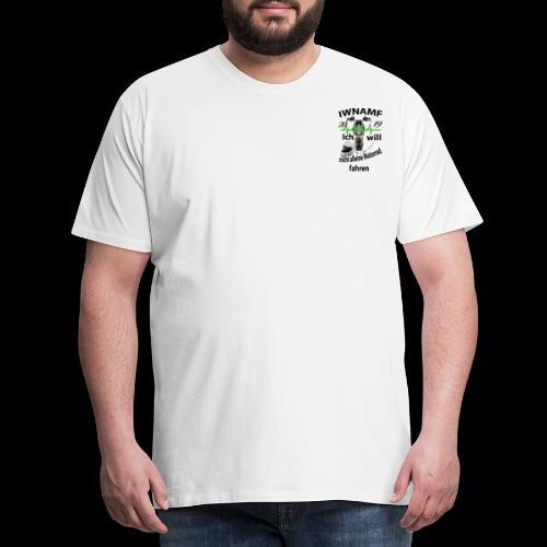 Shirtaufkleber - Männer Premium T-Shirt