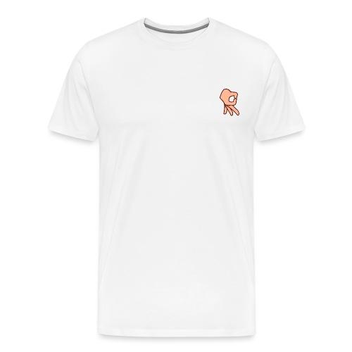 Hand - Mannen Premium T-shirt
