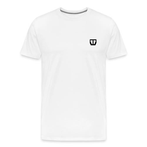 oie transparent zwart png - Mannen Premium T-shirt