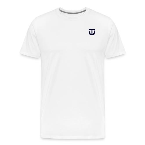 oie transparent navy png - Mannen Premium T-shirt