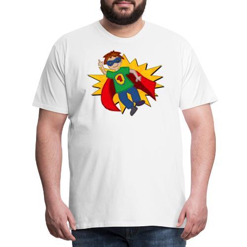 Superheld - Männer Premium T-Shirt