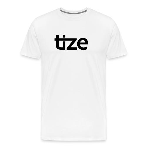 Tize in schwarz. - Männer Premium T-Shirt