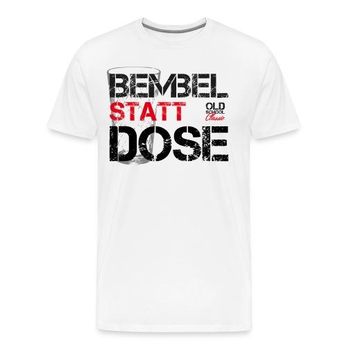 OLDSCHOOL Classic Bembel - Männer Premium T-Shirt