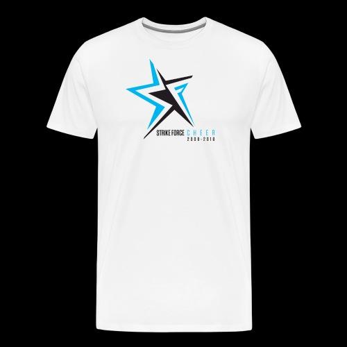 Strike Force 10 YR Logo 02 - Men's Premium T-Shirt
