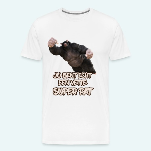 Super rat - Mannen Premium T-shirt