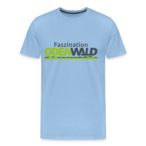 Faszination Odenwald Logo - Männer Premium T-Shirt