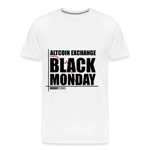 Crypto Black Monday - Männer Premium T-Shirt