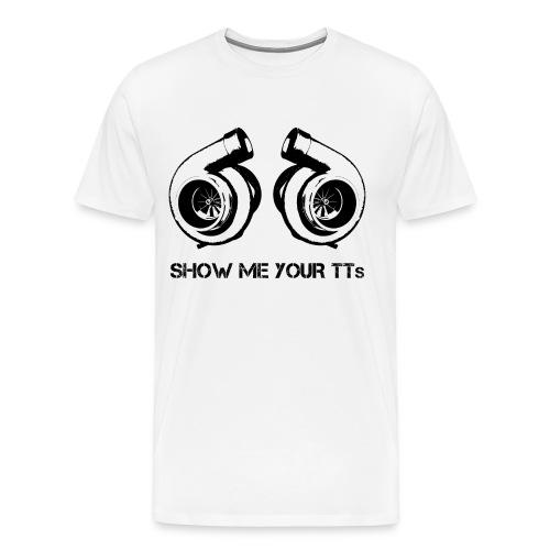 Show me your Twin-Turbos - Men's Premium T-Shirt