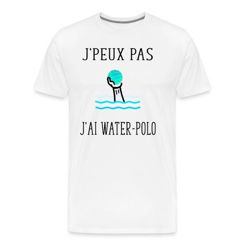 j' peux pas j'ai water-polo - T-shirt Premium Homme