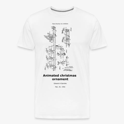 Animated Christmas ornament - Männer Premium T-Shirt
