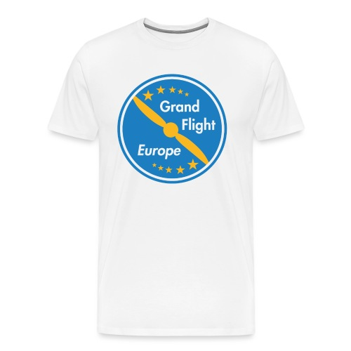 Grand Flight Europe Logo - Männer Premium T-Shirt