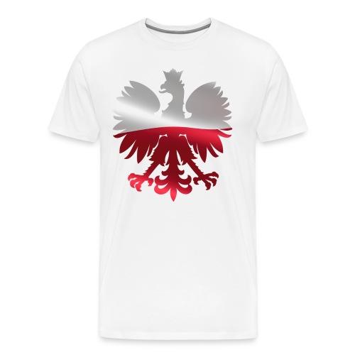 Polski orzeł | Prezent pod flagę Polski - Koszulka męska Premium