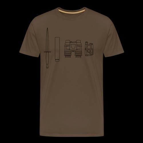 SOPMOD schwarz - Männer Premium T-Shirt