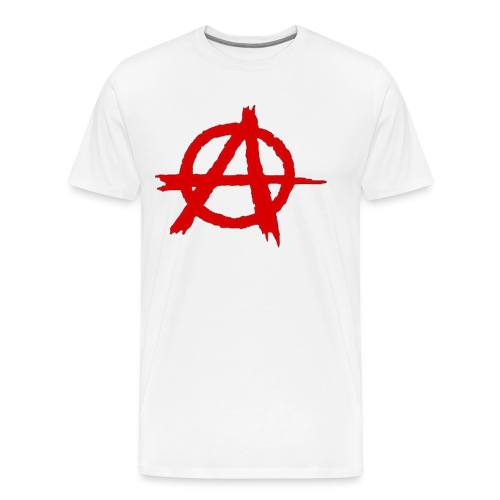 Anarkist Logo - Men's Premium T-Shirt