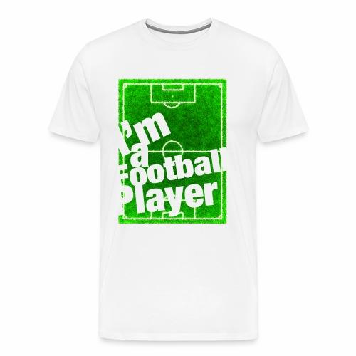 Football Player - Maglietta Premium da uomo