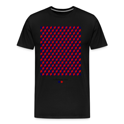 graphic cube - T-shirt Premium Homme