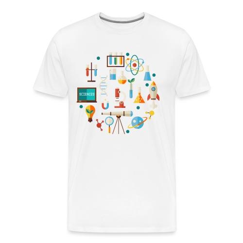 Les sciences - T-shirt Premium Homme