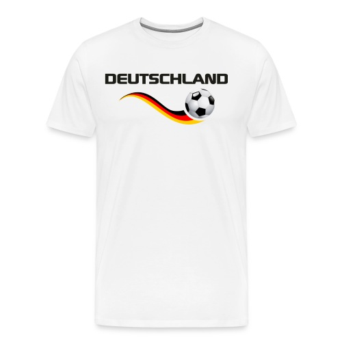 WM DEUTSCHLAND 1 - Männer Premium T-Shirt