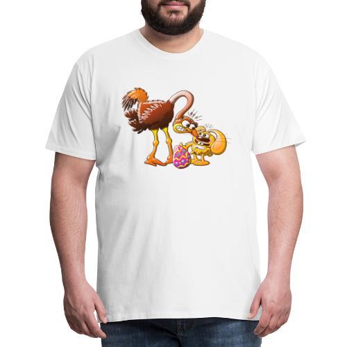 Ambitious Easter Bunny - Men's Premium T-Shirt