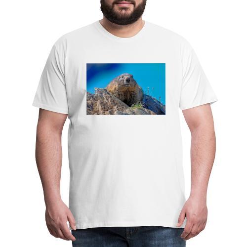 Murmeltier - Männer Premium T-Shirt
