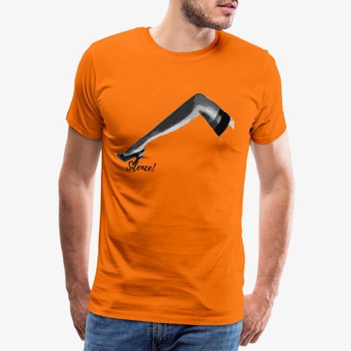 Silence ! - T-shirt Premium Homme