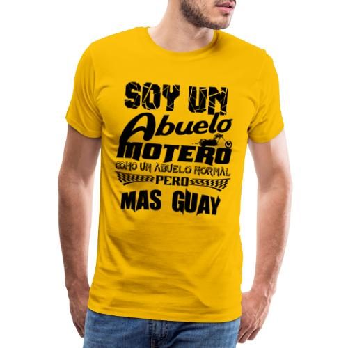 Soy un abuelo motero - Camiseta premium hombre