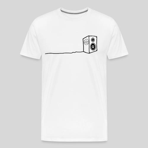 Sesh'sa Musika Official 'Speaker' Label logo - Men's Premium T-Shirt