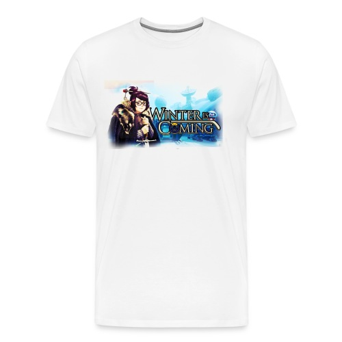 Overwatch and GameOfThrones Fusion - Men's Premium T-Shirt