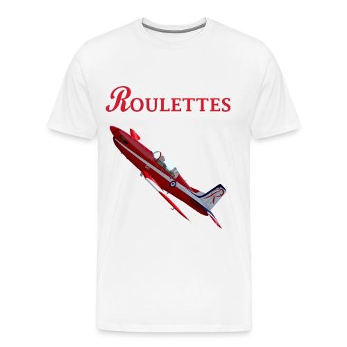 Roulettes Aerobatic Team PC-9 - Men's Premium T-Shirt