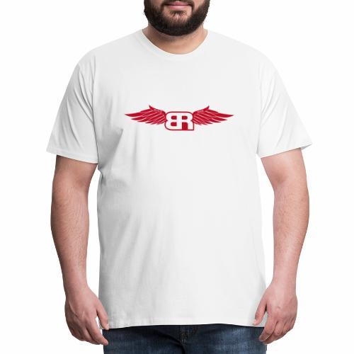 Logo Flügel Red - Männer Premium T-Shirt