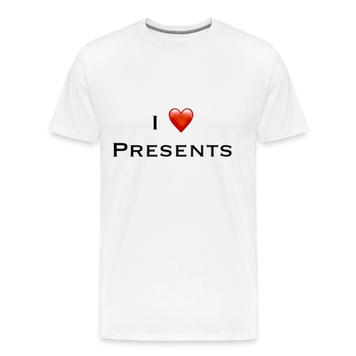 I Love Presents - Men's Premium T-Shirt