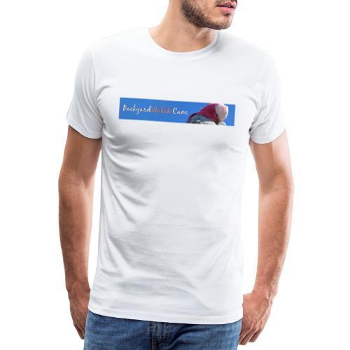 galah logo bird banner - Men's Premium T-Shirt
