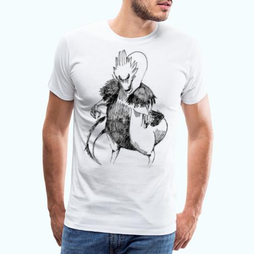 DRAGON STYLE real drawing - Men's Premium T-Shirt