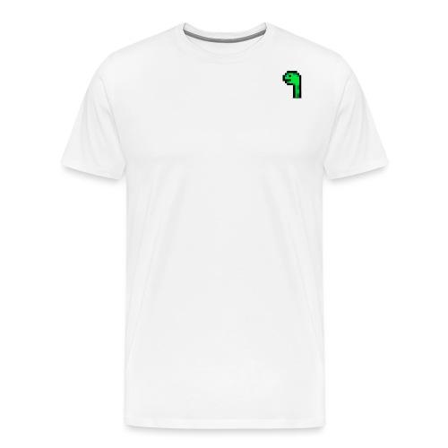 Pixel Logo - Männer Premium T-Shirt