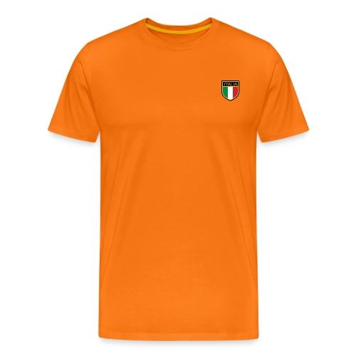 SCUDETTO ITALIA CALCIO - Maglietta Premium da uomo