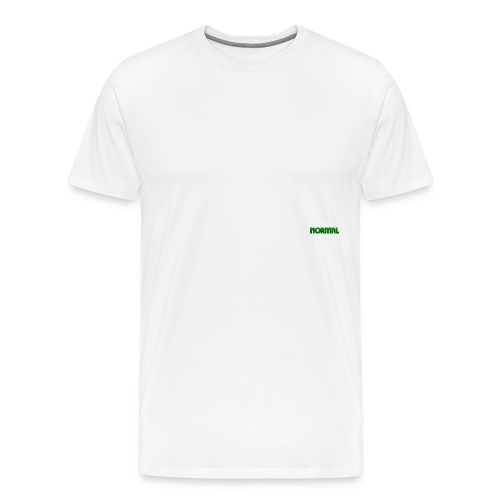 Normal logo - Premium T-skjorte for menn