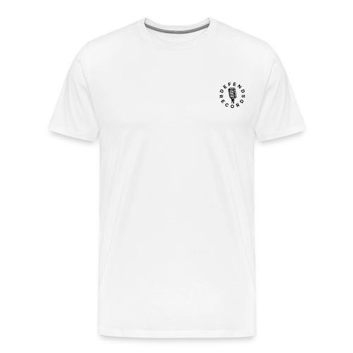Defend Sort - Herre premium T-shirt