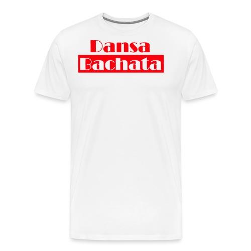 dansa bachata 2 - Premium-T-shirt herr