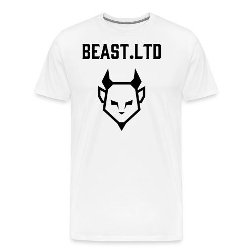 Black Logo Trabag - Herre premium T-shirt