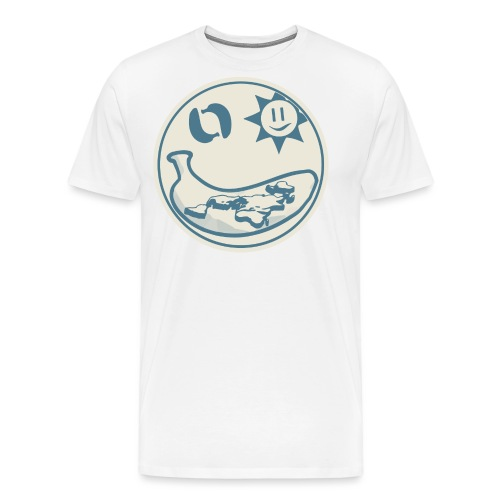 Banana Earth Society Logo - Men's Premium T-Shirt