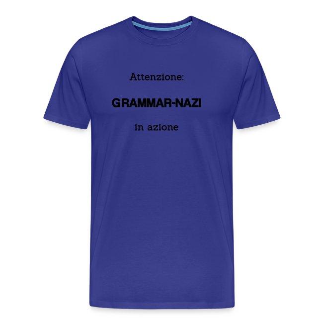 Attenzione: Grammar-nazi in azione