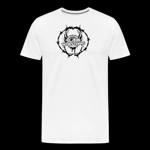 SLAM Wrestling BarbedWire! - Men's Premium T-Shirt