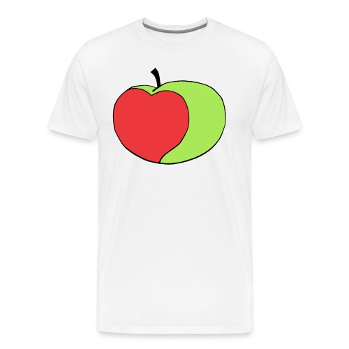 Appley Logo Green - Men's Premium T-Shirt