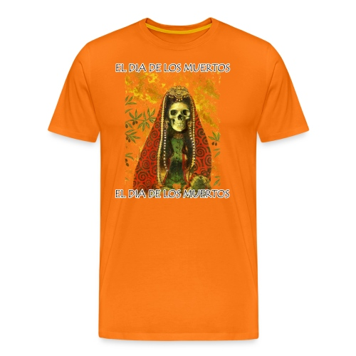 El Dia De Los Muertos Skeleton Design - Men's Premium T-Shirt