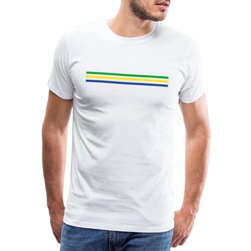 Trait brésil - version 2 - T-shirt Premium Homme