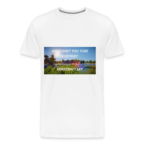 MINECRAFT SKY - Männer Premium T-Shirt