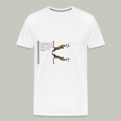 panthère - T-shirt Premium Homme