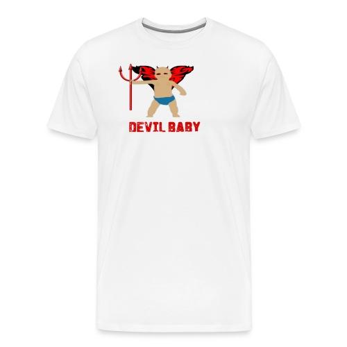 DEVIL BABY png - Men's Premium T-Shirt