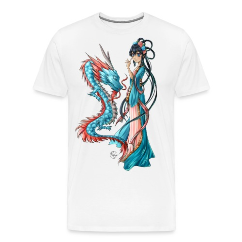 Blue Dragon - T-shirt Premium Homme