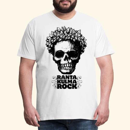 Skulli ja Rantakulmarock - Miesten premium t-paita